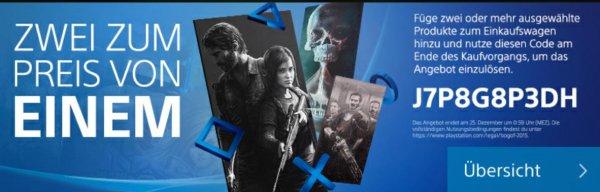 PlayStation zwei Spiele zum Preis von einem