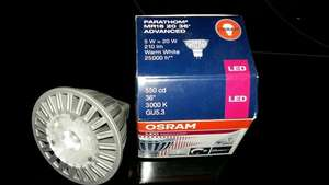 [Zimmermann] Osram LED Parathom GU 5.3/MR16 5W = 20W Dimmbar 3000K 0,99€