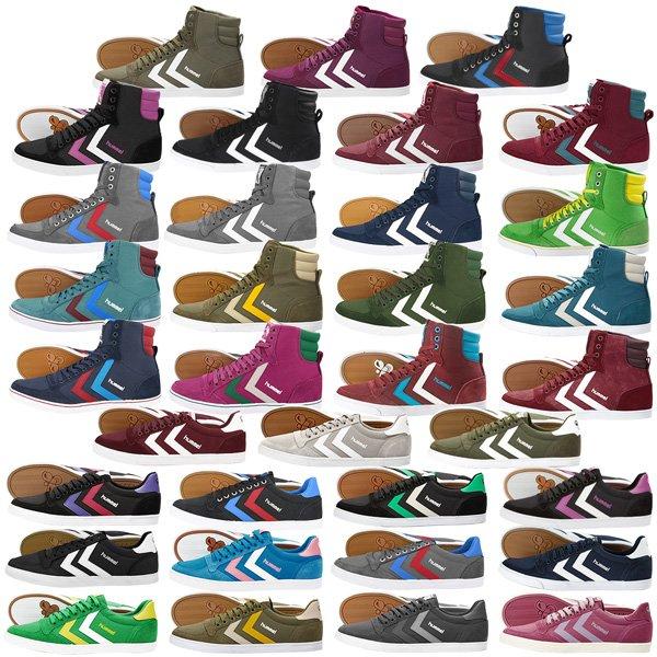 HUMMEL SLIMMER STADIL Schuhe LOW und HIGH - eBay WOW - 34,90€ - kostenloser Versand - viele Farben und Größen erhältlich