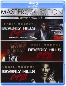 Beverly Hills Cop 1-3 - Box [Blu-ray] mit Deutscher Tonspur inkl. Vsk für 15,25 € > [amazon.it]