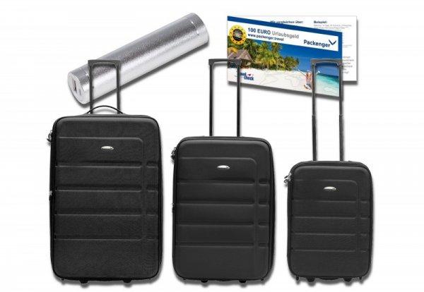Rakuten: Kofferset inkl. Powerbank & Urlaubsgutschein und 15x Superpunkte