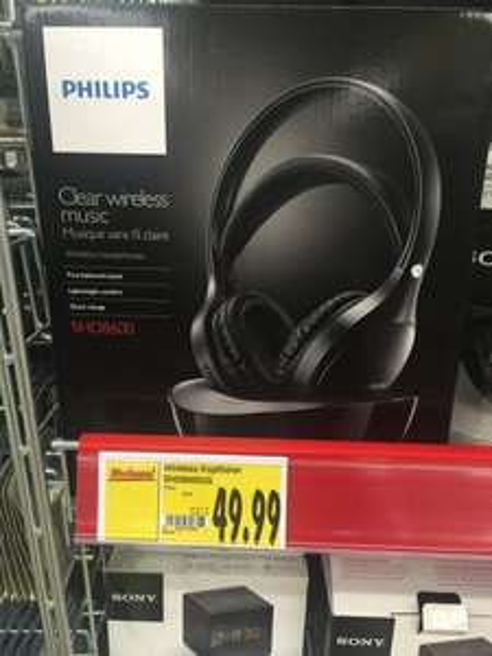 [Lokal Kaufland Lichtenfels] Philips SHD8600 Funkkopfhörer für 49,99-