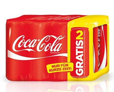 Coca-Cola 6+2 Dosen Multipack bei ALDI-SÜD(/NORD) im Angebot