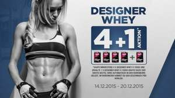 4+1 GRATIS // ESN Designer Whey Aktion