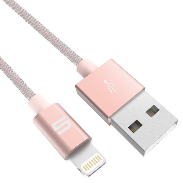 Syncwire -20% Code für Nylon Lightning Kabel [Apple MFi zertifiziert] grau und roségold ab