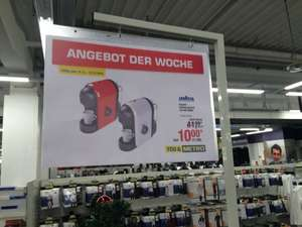 [METRO Bundesweit] Lavazza Kapselmaschine LM500 11,90€