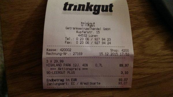 [Lokal] Soul Soda bei Trinkgut in Lünen für effektive 0€