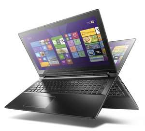 Lenovo Flex 2 Pro-15 [Intel Core i5-5200U, 2,7GHz, 8GB RAM, 256GB SSD, NVIDIA GeForce 840M, Touchscreen, Win 8.1] @ Amazon.de WHD [Einzelstück]