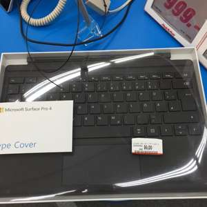 Type Cover schwarz Microsoft Surface Pro 3/4