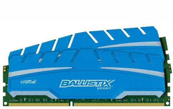 16 GB KIT Crucial Ballistix Sport XT 1600, CL9-9-9-24