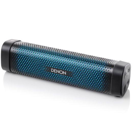[amazon.de] Denon Envaya Mini Bluetooth Lautsprecher für 69,99€ ( NFC, AUX-Eingang, Mikrofon für Freisprechfunktion, Akku ) Schwarz / weiß