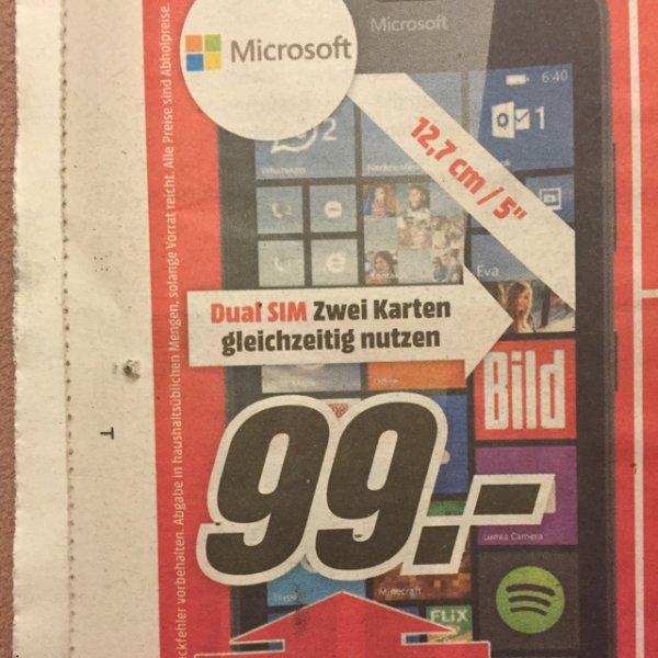 [lokal MediaMarkt Frankfurt-Borsigallee] Microsoft Lumia 640 Dual SIM