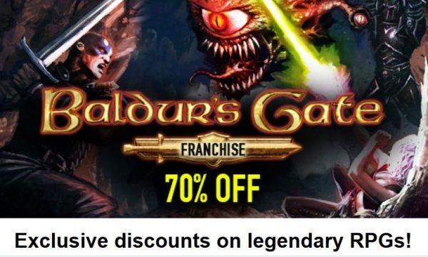 [Steam] Baldur's Gate (1 und 2) / Icewind Dale in der Enhanced Edition für je 5,99€ @ Bundle Stars