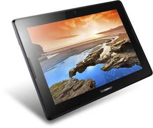 Lenovo A10-70 10,1 Zoll HD-IPS Tablet mit 1.3GHz, 32GB eMMC, 5MP Cam, GPS, 3G/UMTS, Android 4.2) midnight blau