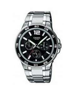 Casio Collection MTP-1300D-1AVEF Herren-Armbanduhr für 48,76€ bei Amazon.de