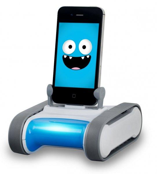 [comtech.de] Romo Roboter mit Lightning Anschluss für iPhone 5/5C/5S und iPod 5.Generation
