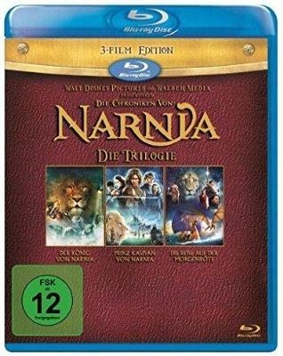 [mediamarkt.de/ amazon.de] Die Chroniken von Narnia - Die Trilogie [Blu-ray] für 9,99€
