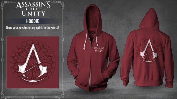 Assassin's Creed Unity Hoodie (Original by Ubisoft) Größe L für 12,98€ @ Computeruniverse
