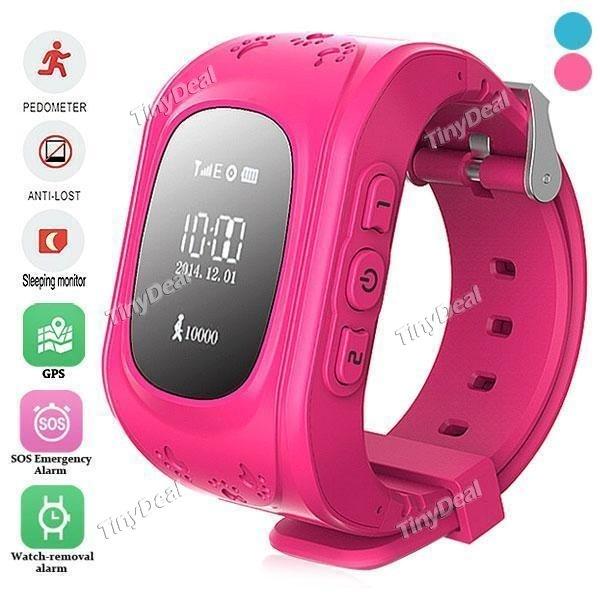 156°x09x09x09 W5 KINDER Smartwatch mit GPS TRACKER , SIM FUNKTION, Anti-LOST sowie SOS - Funktion + App für iOS, Android bei Tinydeal