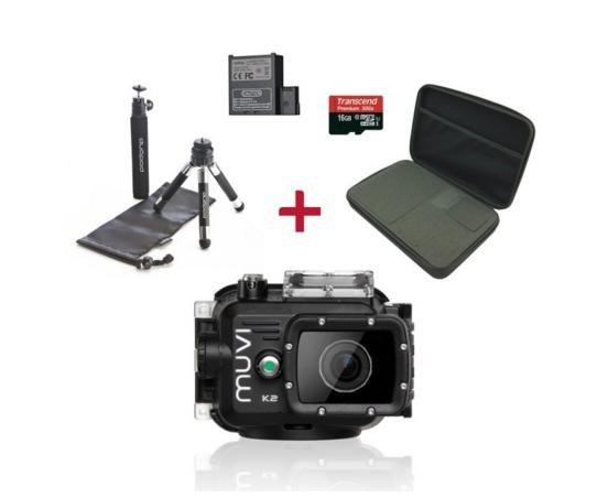 VEHO MUVI K-2 Actioncam Bundle für 299,99€ anstatt 349,94€