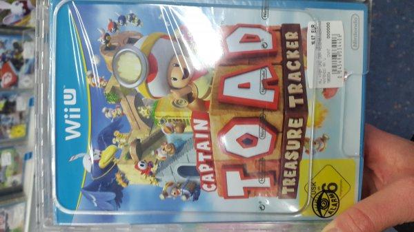 [Lokal Saturn Kassel] Versch. Spiele reduziert: Toad Treasure Tracker, Kirby und der Regenbogen Pinsel je 19,97€ - PES 2015 Day One PS4 nur 9,99€ und andere