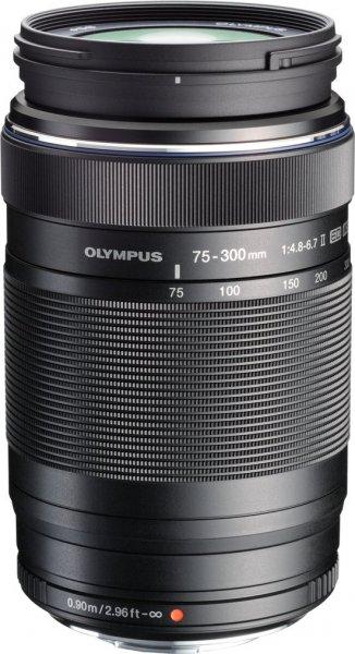 Olympus M. Zuiko Digital 75-300mm f4.8-6.7 ED II Objektiv für 355,74€ bei Amazon.fr