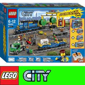 (Intertoys) Lego 66493 Lego City Superpack 4 in 1