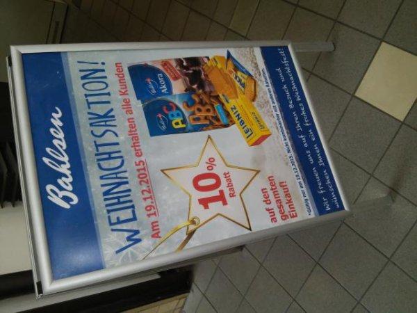 (Lokal Hannover) Bahlsen Qutlet Markthalle 10% auf alles am Sa. 19.12. u.a. Pick UP! 1,5 Kg