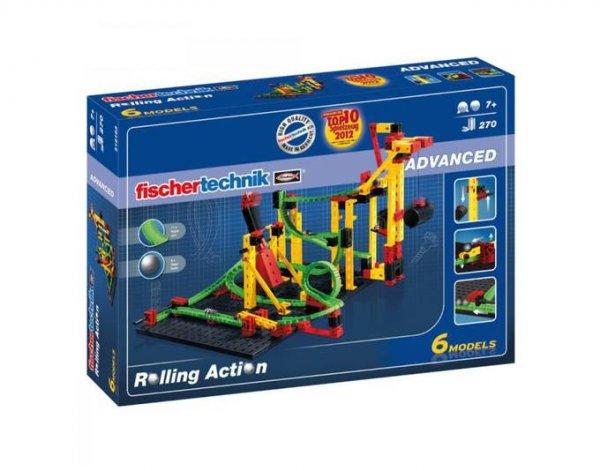 [toys-more24] fischertechnik Advanced Rolling Action Kugelbahn 270 Teile 516183