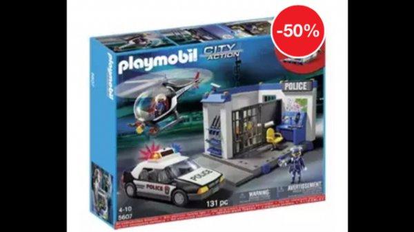 [REAL online, VSK frei] Playmobil 5607 Polizeiset 3in1 für 39,95€