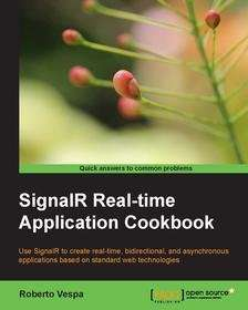 """SignalR Real Time Application Cookbook"" E-Book Download"