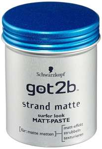 6x 100ml - got2b Strand Matte Matt-Paste (Amazon Prime) für 13,19€ - Blitzangebot