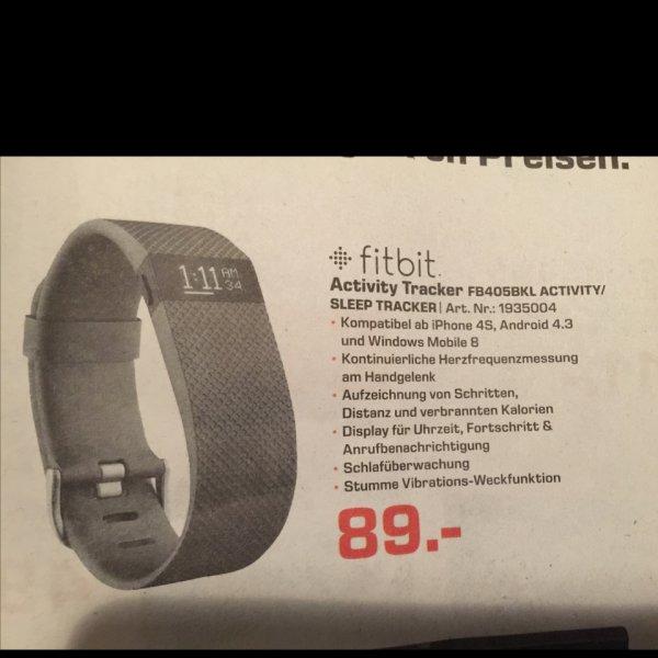 Fitbit Charge HR ( Lokal ) Saturn Fürth