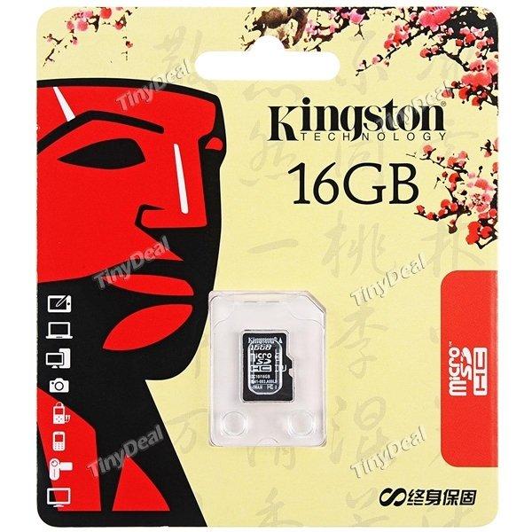 [ChinaDeal] Kingston 16GB UltimateX Class 10 MicroSD Speicherkarte für nur 4,95€ (Versandkostenfrei)
