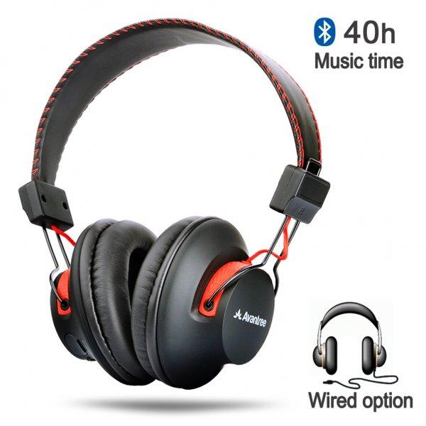 Avantree® Audition Wireless Bluetooth Over Ear Kopfhörer für €42.49 bei Amazon.de