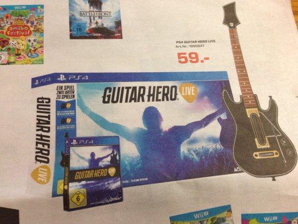 [lokal Saturn Duisburg] Guitar Hero Live / PS4
