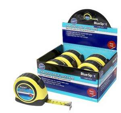 [Amazon.de-Prime] Blue Spot Tools - Tape 7Mtr (6Pce Display) - B/S33014