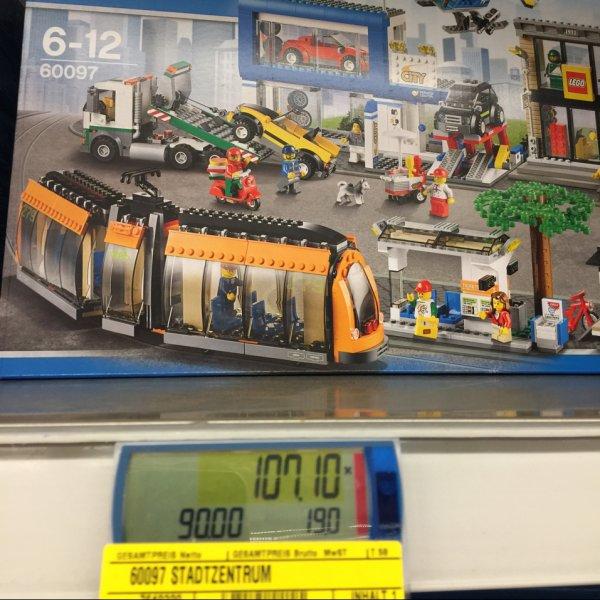 Metro bundesweit - Lego Stadtcentrum 60097