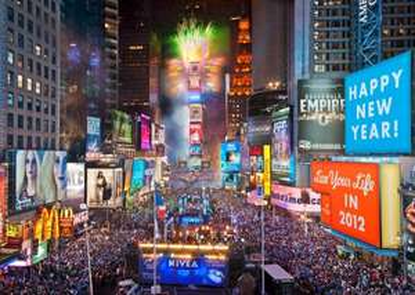 Für Kurzentschlossene: Silvester in New York mit United für ca. 500€ ab Frankfurt