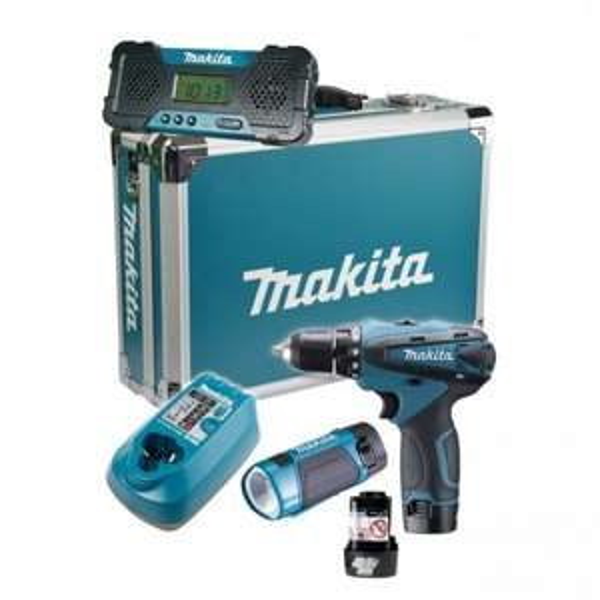 Makita DK1488X 10,8V Akku-Schrauber Set