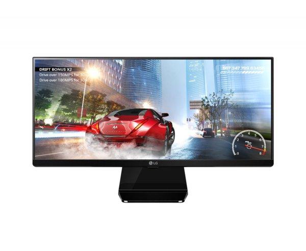 """LG UltraWide 29UM67-P (29"""" ( 2.560x1.080) LED Monitor mit IPS-Panel, Reaktionszeit: 5 ms, DVI, DisplayPort und HDMI, Lautsprecher für 299€ bei eBay"""
