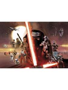 STAR WARS: The Force Awakesns - XXL Fototapete (69,99 € statt 96,99 €!