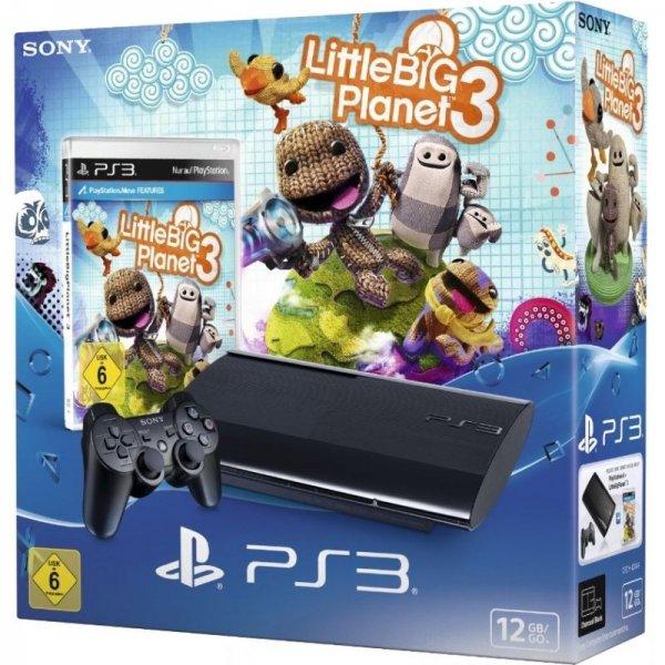 [eBay WOW] Sony Playstation 3 Super Slim 12GB inkl. Controller und Little Big Planet 3
