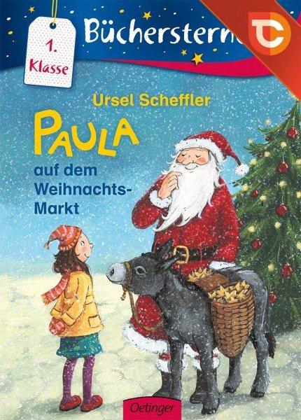 """[Android/iOS] Kindermedien-App TigerBooks verschenkt das interaktive E-Book """"Paula auf dem Weihnachtsmarkt"""""""