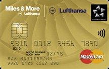 Lufthansa Miles and More Kreditkarte Gold Wold Plus mit 20.000 Meilen + Avis Wochenend-Miete (Mittelklasse)