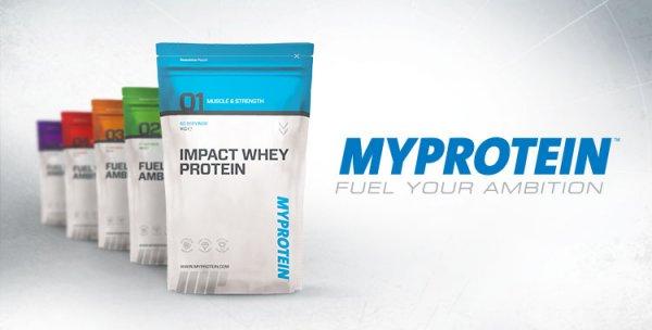 MyProtein Impact Whey 1kg für 7,39€ und 2,5kg für 17,46€