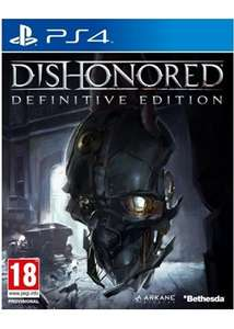 [simplygames] Dishonored: Definitive Edition (One/PS4) für 17,18 €