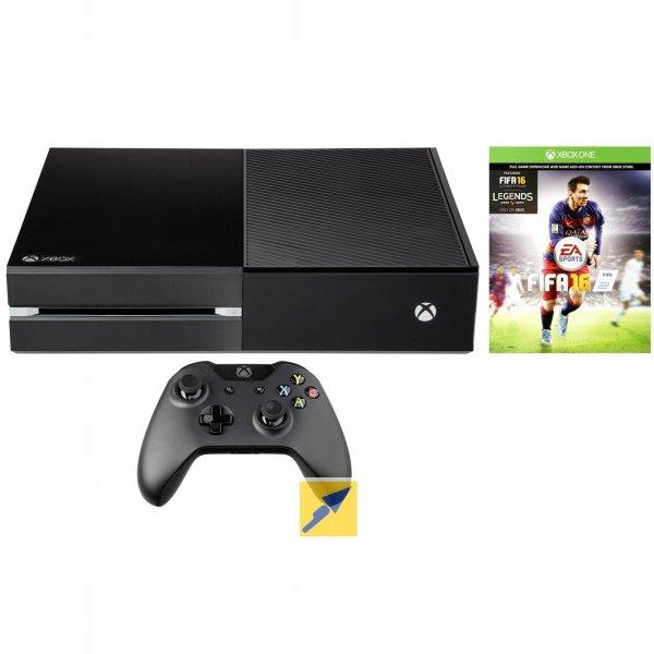 [Technikdirekt.de/Masterpass] Microsoft Xbox One 500GB inkl. FIFA 16 (morgen) für 249€ möglich - Bestpreis!