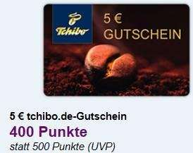 5 € Gutschein Tchibo Aktion [DeutschlandCard] 400 Punkte statt 500 Punkte