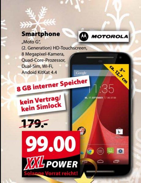 [Lokal OL] Motorola Moto G (2nd Gen.) 8GB bei Famila XXL